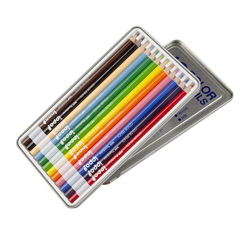 12 Color Case Lid at back